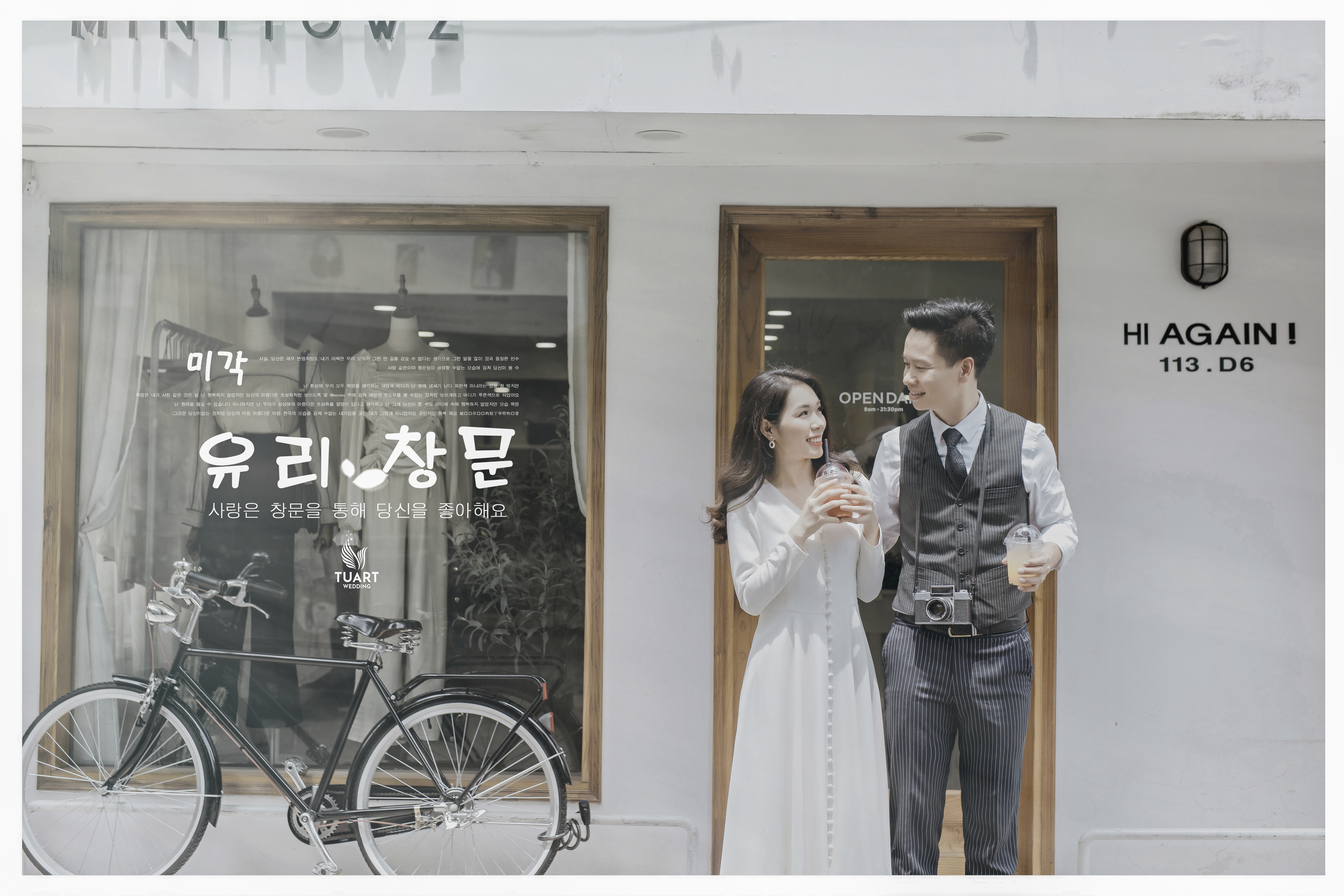 Album ảnh cưới phong cách Hàn Quốc tại Hà Nội